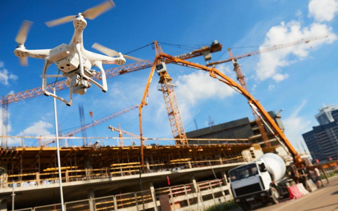 Beneficios del uso de drones en el área de construcción.